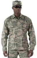 [8695] Ultra Force™ ACU Digital Camo Poly/Cotton BDU Shirt
